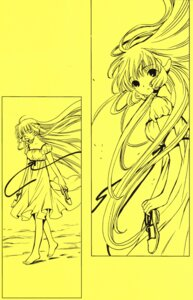 Rating: Safe Score: 5 Tags: chii chobits clamp monochrome User: Radioactive