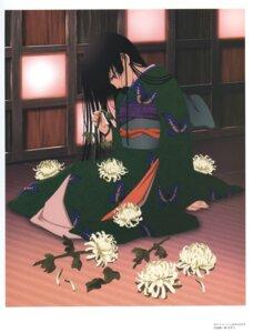 Rating: Safe Score: 9 Tags: enma_ai jigoku_shoujo kimono oka_mariko User: charunetra