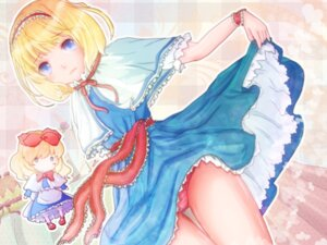 Rating: Questionable Score: 13 Tags: alice_margatroid kotubu pantsu shanghai touhou wallpaper User: GeniusMerielle