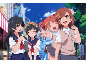 Rating: Safe Score: 15 Tags: misaka_mikoto saten_ruiko seifuku shirai_kuroko to_aru_kagaku_no_railgun to_aru_kagaku_no_railgun_s to_aru_majutsu_no_index uiharu_kazari User: Twinsenzw