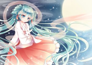 Rating: Safe Score: 30 Tags: asian_clothes chuushuu_meigetsu_miku die_ying hatsune_miku vocaloid User: charunetra