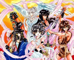 Rating: Safe Score: 1 Tags: ashura clamp karura-ou kendappa-ou rgveda ryuu-ou souma yasha-ou User: Share