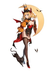 Rating: Questionable Score: 33 Tags: bra halloween heels horns neko pantsu pointy_ears tagme thighhighs torn_clothes wings User: BattlequeenYume