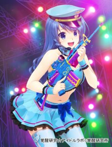 Rating: Safe Score: 29 Tags: gun idol_labo thighhighs wacchi User: fairyren