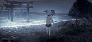 Rating: Safe Score: 32 Tags: kumamoto_nomii-kun landscape nijisanji nijisanji_gamers seifuku shiina_yuika sweater User: Mr_GT