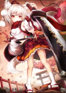 Rating: Safe Score: 39 Tags: inubashiri_momiji touhou umagenzin User: 椎名深夏