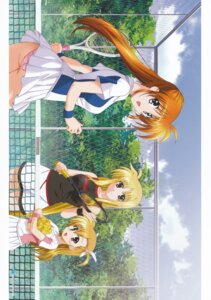 Rating: Questionable Score: 4 Tags: ass fate_testarossa heterochromia mahou_shoujo_lyrical_nanoha mahou_shoujo_lyrical_nanoha_strikers okuda_yasuhiro pantsu takamachi_nanoha tennis vivio User: daemonaf2