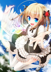 Rating: Safe Score: 54 Tags: dress gothic_lolita heels lolita_fashion nekobaka thighhighs User: KazukiNanako