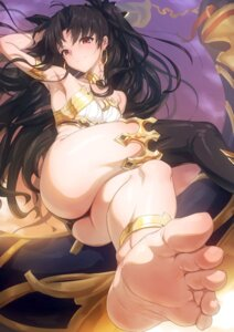 Rating: Questionable Score: 85 Tags: aya_shobon bikini_armor fate/grand_order feet ishtar_(fate/grand_order) thighhighs thong User: hiroimo2