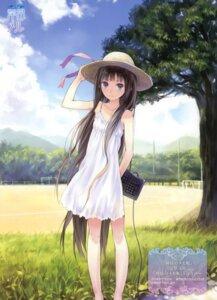 Rating: Safe Score: 129 Tags: dress kamisama_no_memochou kishida_mel shionji_yuuko summer_dress User: fireattack