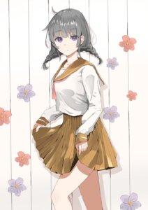 Rating: Safe Score: 13 Tags: seifuku skirt_lift tagme User: saemonnokami