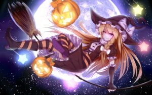 Rating: Questionable Score: 40 Tags: bakanoe halloween heels kirisame_marisa thighhighs touhou witch User: sylver650