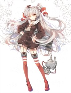 Rating: Questionable Score: 34 Tags: akara amatsukaze_(kancolle) kantai_collection thighhighs User: fairyren