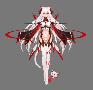 Rating: Questionable Score: 25 Tags: animal_ears leotard mecha_musume see_through tagme tail zhuore_zhi_hen User: Dreista