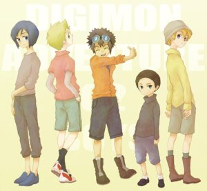 Rating: Safe Score: 4 Tags: digimon digimon_adventure_02 hida_iori ichijoji_ken male motomiya_daisuke takaishi_takeru uoresu ya User: krazy-kun