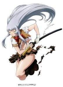 Rating: Questionable Score: 23 Tags: chouun_shiryuu ikkitousen no_bra seifuku sword torn_clothes underboob User: charunetra