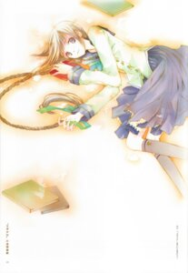 Rating: Safe Score: 15 Tags: amano_tooko binding_discoloration bungaku_shoujo takeoka_miho User: Komori_kiri