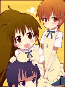 Rating: Safe Score: 8 Tags: inami_mahiru kimoko taneshima_poplar working!! yamada_aoi User: Radioactive