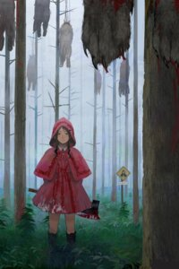 Rating: Questionable Score: 24 Tags: blood little_red_riding_hood_(character) red_riding_hood tomiya7112 weapon User: Noodoll