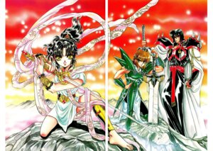 Rating: Safe Score: 2 Tags: ashura clamp gap rgveda ryuu-ou yasha-ou User: Share