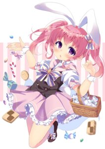 Rating: Safe Score: 33 Tags: animal_ears bunny_ears dress irone_(miyamiya38) tail User: Mr_GT