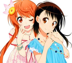 Rating: Safe Score: 76 Tags: cleavage dress nisekoi onodera_kosaki tachibana_marika User: akagiss