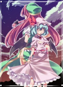 Rating: Safe Score: 3 Tags: hong_meiling remilia_scarlet subachi touhou User: konstargirl