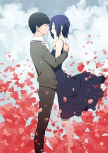 Rating: Safe Score: 27 Tags: dress kaneki_ken kirishima_touka thank_star tokyo_ghoul User: charunetra