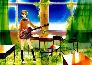 Rating: Safe Score: 3 Tags: chry guitar seifuku User: charunetra