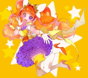 Rating: Questionable Score: 16 Tags: amanogawa_kirara dress go!_princess_pretty_cure heels pretty_cure thighhighs yupiteru User: cosmic+T5