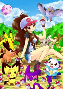 Rating: Safe Score: 16 Tags: minccino munna nakagawa_shouko notched-ear_pichu oshawott pidove pikachu pokemon pokemon_black_and_white purrloin snivy tepig touko_(pokemon) User: charunetra