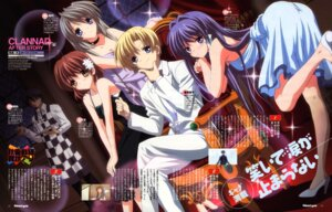 Rating: Safe Score: 20 Tags: clannad clannad_after_story dress fujibayashi_kyou furukawa_nagisa hikiyama_kayo okazaki_tomoya sakagami_tomoyo sunohara_youhei User: sdlin2006
