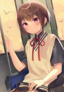 Rating: Safe Score: 14 Tags: gyozanuko seifuku sweater User: Arsy