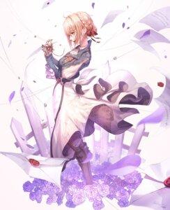 Rating: Safe Score: 21 Tags: dress mecha_musume seol skirt_lift violet_evergarden violet_evergarden_(character) User: Dreista