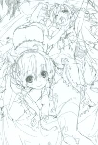Rating: Safe Score: 9 Tags: kokonoka monochrome sketch User: petopeto