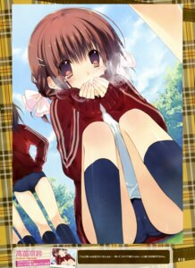 Rating: Questionable Score: 35 Tags: buruma gym_uniform takanae_kyourin User: drop