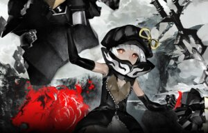 Rating: Safe Score: 25 Tags: black_rock_shooter huke strength vocaloid User: Radioactive