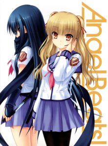 Rating: Safe Score: 51 Tags: angel_beats! na-ga seifuku shiina yusa User: acas