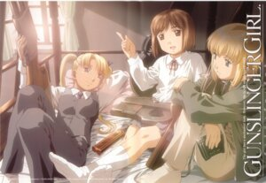 Rating: Safe Score: 10 Tags: gunslinger_girl henrietta_(gunslinger_girl) rico_(gunslinger_girl) triela User: Radioactive
