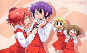 Rating: Safe Score: 11 Tags: hidamari_sketch hiro megane miyako sae seifuku suka yuno User: hirotn