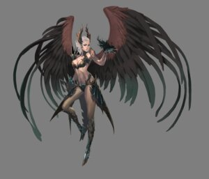Rating: Safe Score: 30 Tags: armor bikini_armor cleavage horns jeong_juno lineage lineage_2 transparent_png wings User: Radioactive