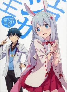 Rating: Safe Score: 75 Tags: animal_ears bunny_ears eromanga-sensei izumi_masamune izumi_sagiri kanzaki_hiro miko User: kiyoe