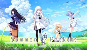 Rating: Safe Score: 31 Tags: dress heels izumi_tsubasu key kushima_kamome na-ga nagayama_yuunon naruse_shiroha pantyhose see_through seifuku sorakado_ao summer_pockets tsumugi_wenders User: john.doe