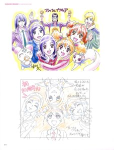 Rating: Safe Score: 3 Tags: fresh_pretty_cure! kagawa_hisashi megane pretty_cure seifuku sketch User: drop