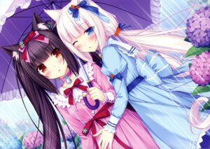 Rating: Safe Score: 115 Tags: animal_ears chocola dress nekomimi nekopara sayori vanilla User: ted423