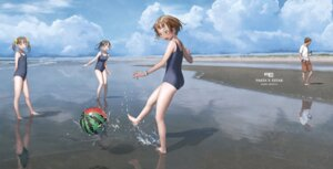 Rating: Safe Score: 45 Tags: ass range_murata school_swimsuit swimsuits wet User: Poiness