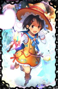 Rating: Safe Score: 18 Tags: sasaki_chie teiryoku_lolita the_idolm@ster weapon witch User: Mr_GT