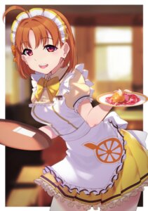 Rating: Safe Score: 18 Tags: love_live!_sunshine!! maid takami_chika uniform waitress yamaorimon User: Spidey