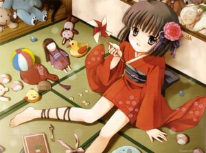 Rating: Safe Score: 14 Tags: bleed_through hijiri_ruka kimono User: yumichi-sama
