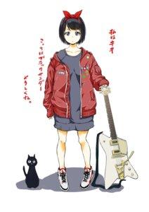 Rating: Safe Score: 15 Tags: guitar neko takata_koutarou User: saemonnokami